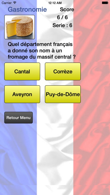 Départements de France - Liste et Quiz