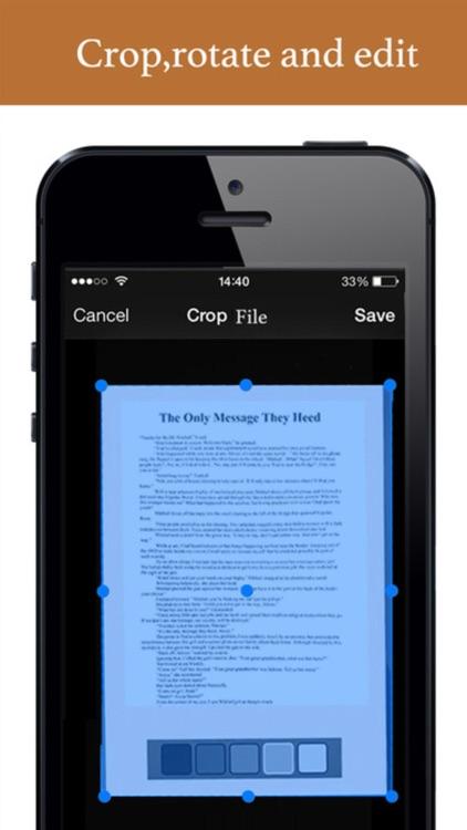 Affinity Scanner Pro - PDF Document Scan & OCR Doc screenshot-4