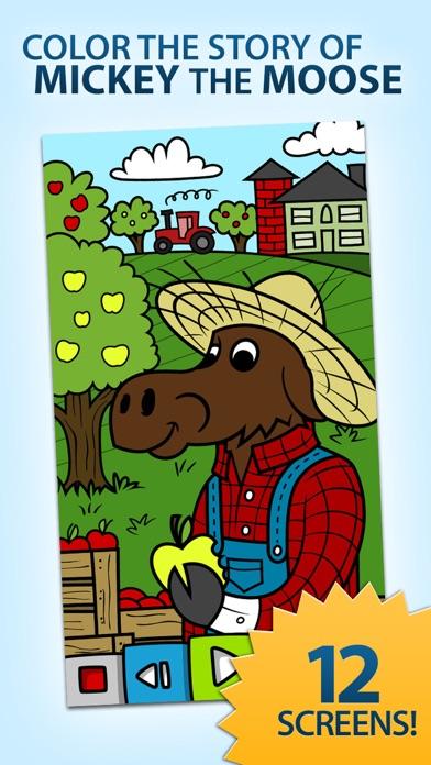 点击获取Mickey the Moose Coloring Book