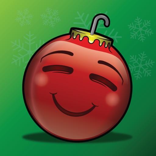137 Christmas Emoji Ornament Stickers