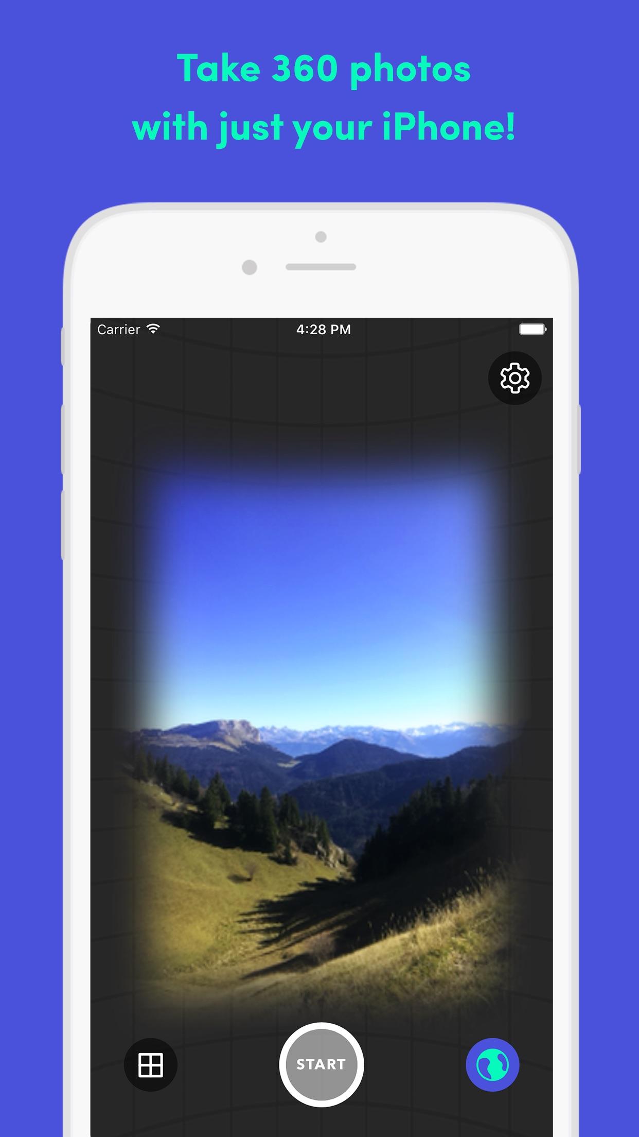 FOV - 360 photos & immersive panorama sharing Screenshot