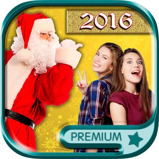 Your photo with Santa & Xmas jokes – Pro