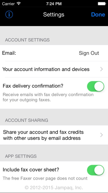 Faxer™ (a US800.com service) screenshot-4