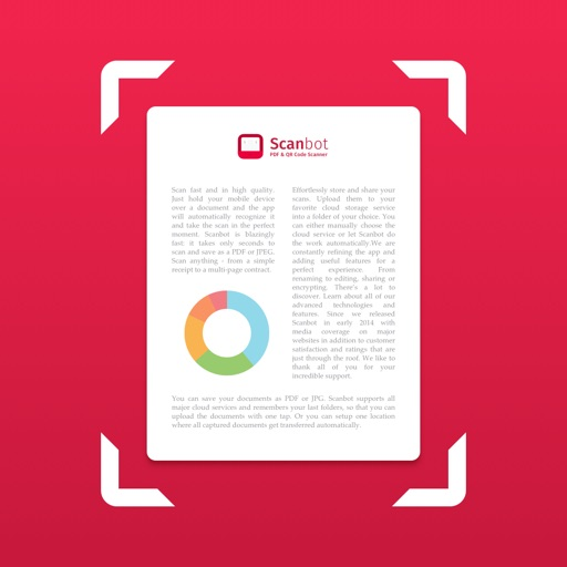 Scanbot, the iPhone App for Scanning Important Documents to the Cloud, is Free Today Only