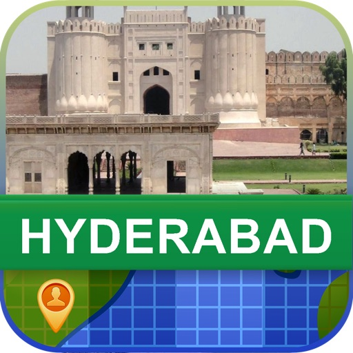Hyderabad, Pakistan Map - World Offline Maps