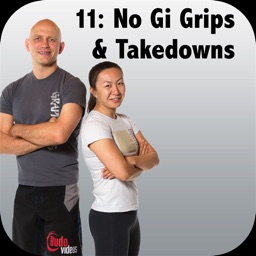 NoGi BJJ Grips, Clinching & Takedowns Bigstrong 11