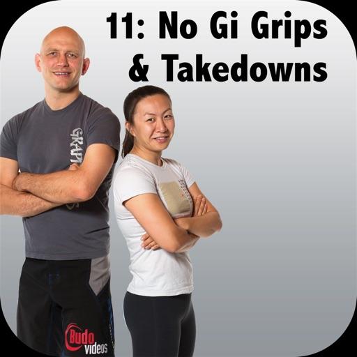 NoGi BJJ Grips, Clinching & Takedowns Bigstrong 11