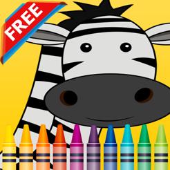 Vahsi Hayvanlar Boyama Kitabi Cocuk Egitsel Oyunla App Store Da
