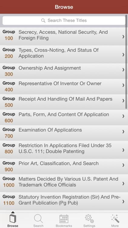 Patent and Trademark Office screenshot-3