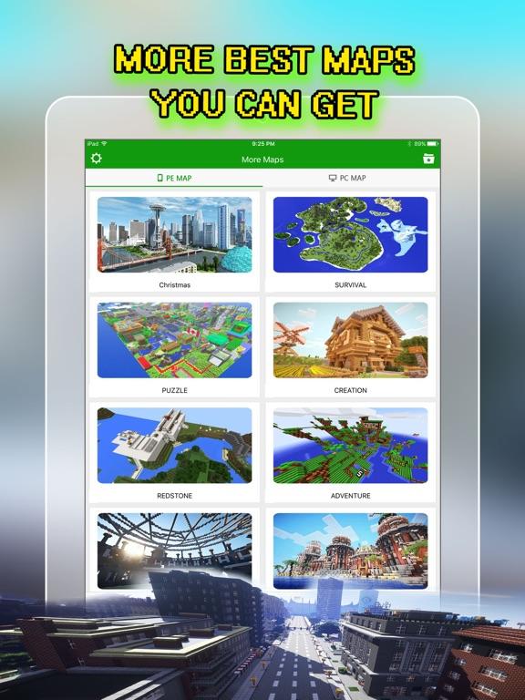 Best City Maps for Minecraft PE : Pocket Edition - AppRecs