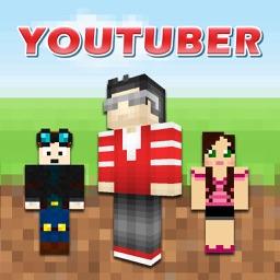 Cube Youtuber Skins for Minecraft Pocket Edition