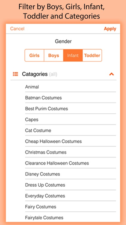 Costume Swipe - Shop 1000's of Halloween Costumes screenshot-3