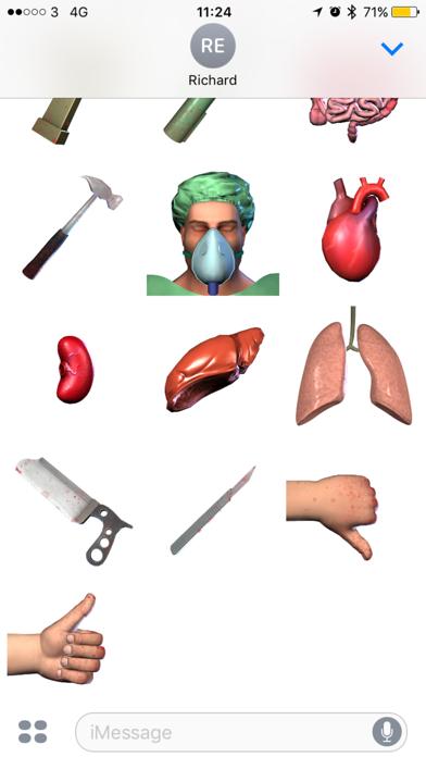 Surgeon Simulator Stickersのスクリーンショット3
