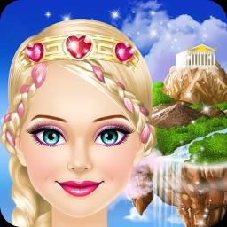 Fantasy Princess - Girls Makeup and Dress Up Games