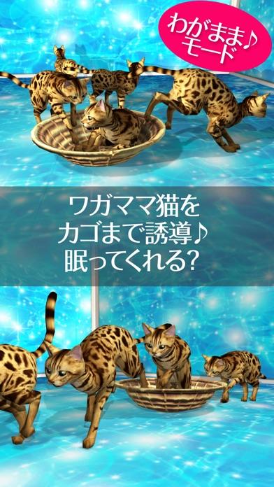 猫っとベンガルがネコっ可愛くなでまくり遊べる無料ペットねこアプリ!紹介画像3