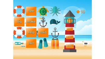Kids Learn To Read Sight Words Screenshot on iOS