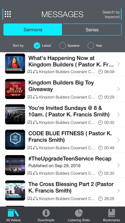Kingdom Builders Church screenshot-3