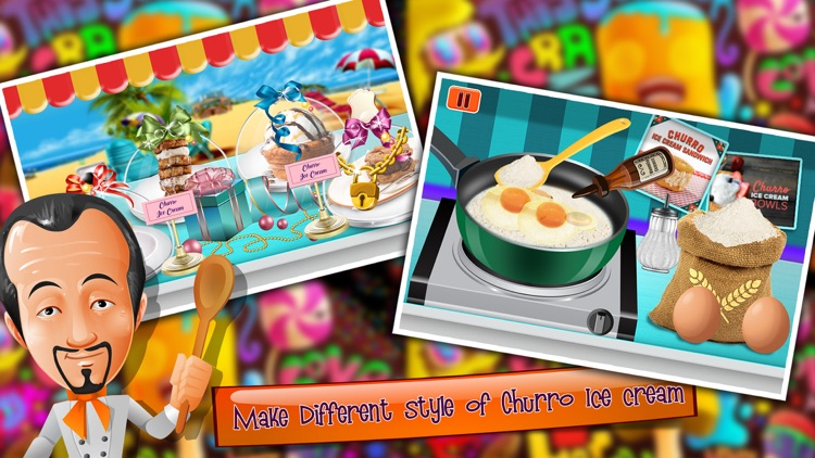 Churro Ice Cream Maker - Icecream Sweet Madness screenshot-3