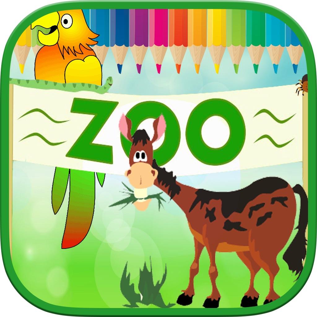 Animals Zoo Kids Coloring Book hack