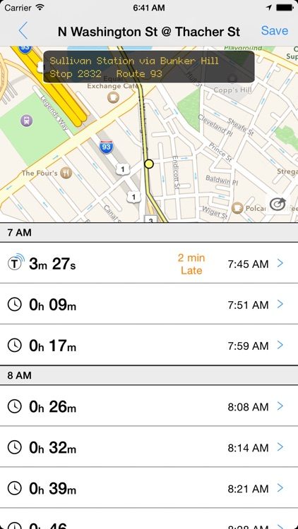Transit Tracker - Boston (MBTA)