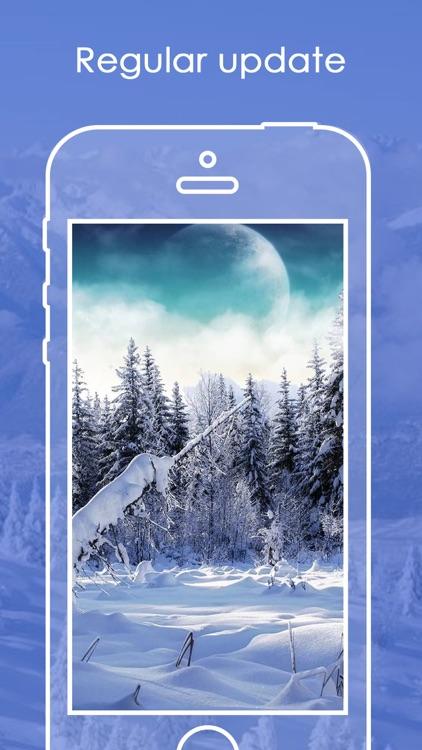 Snowfall Wallpapers HD | Live Snowfall Backgrounds screenshot-3