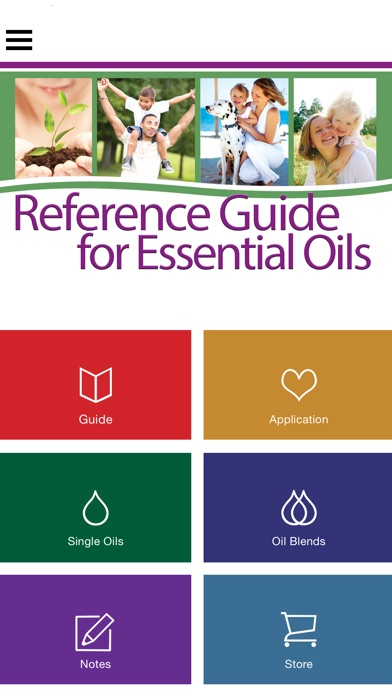 Ref Guide for Essential Oils Screenshot