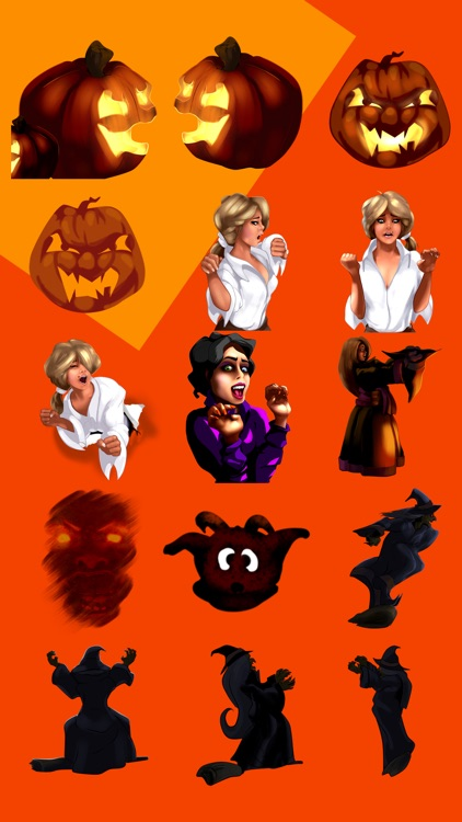 BeingSo.com Halloween Stickers