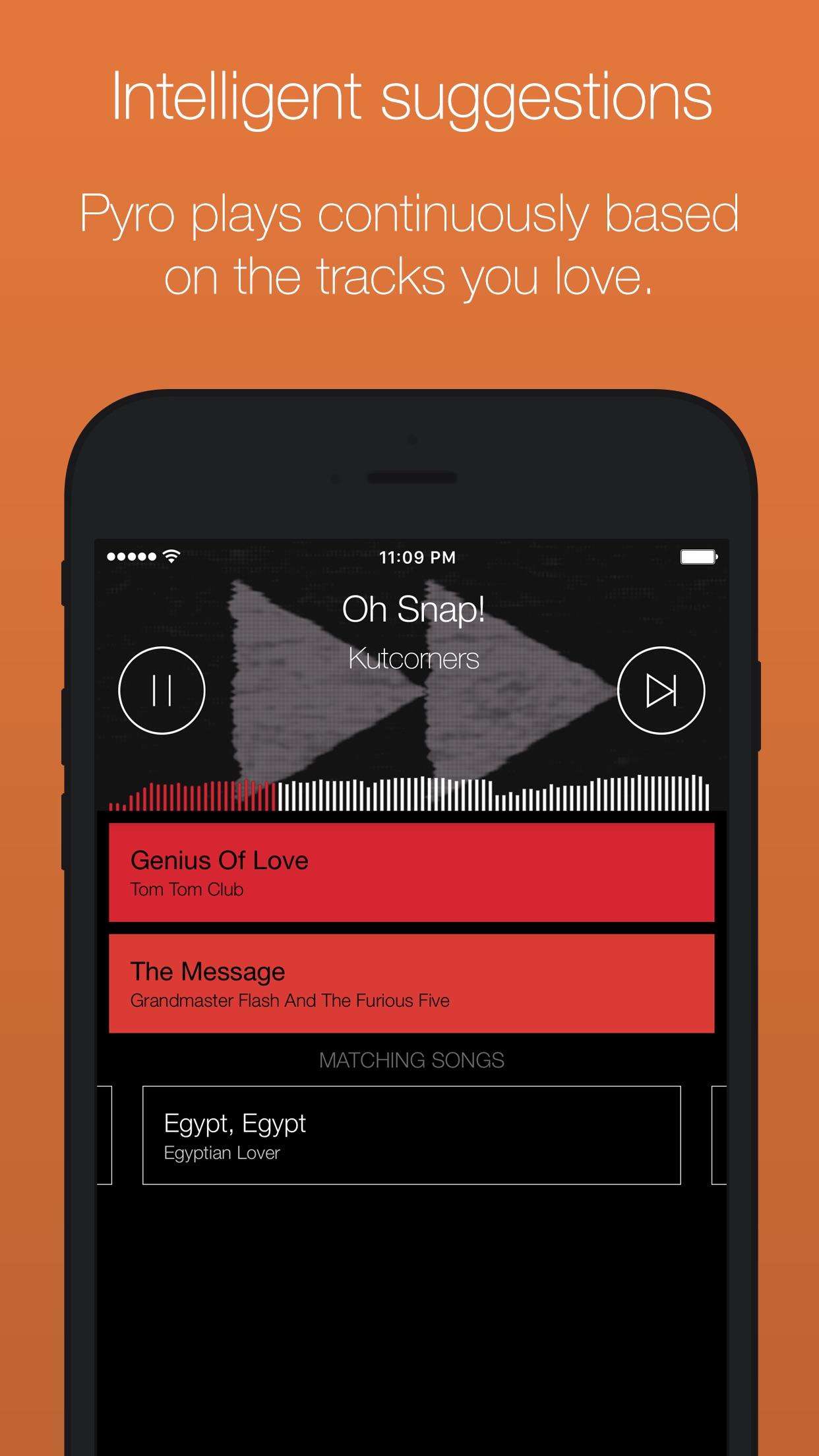 Serato Pyro - automatically mix your music Screenshot