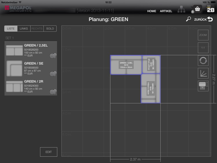 Polster-Planer screenshot-3