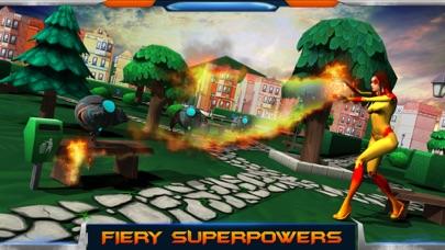 City Heroes 3D: Aliens War screenshot four