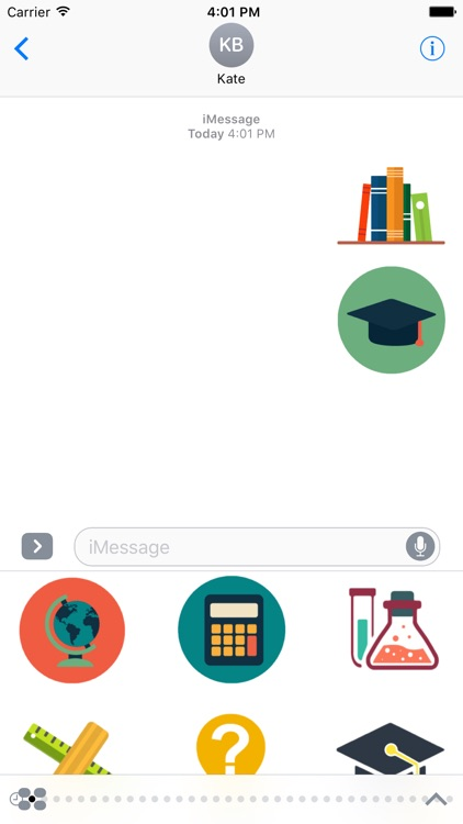 Education Stickers For iMessage