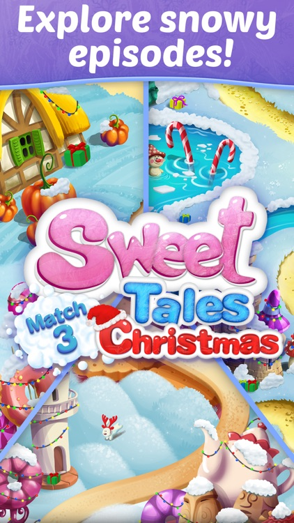Sweet Tales: Match 3 Christmas screenshot-4