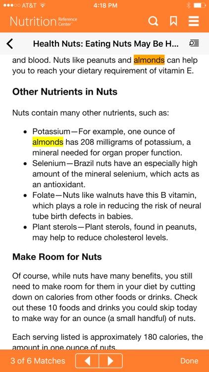 Nutrition Reference Center screenshot-4