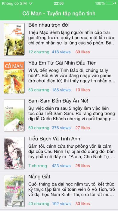 Ngôn Tình Cố Mạn screenshot one