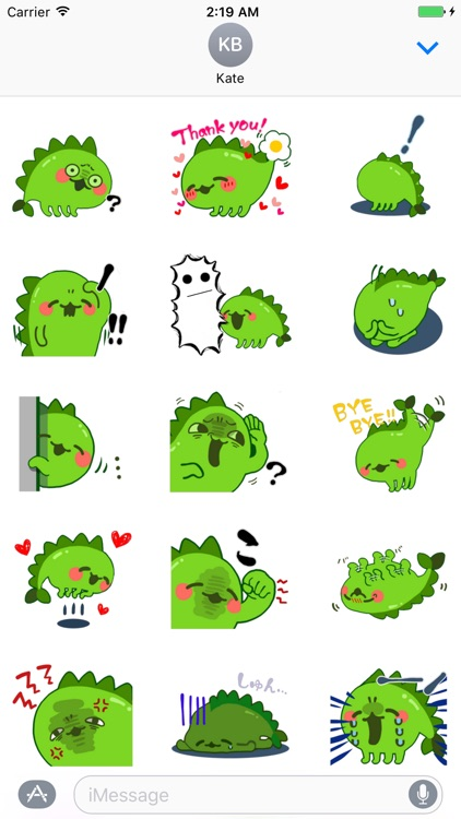 Little Dino Stickers for iMessage