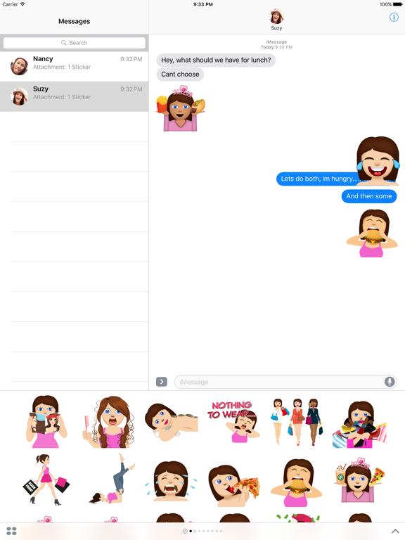 BFF Molly - Fun Girly Emoji | App Price Drops