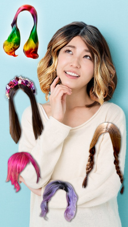 Hairstyles & haircuts - Makeover photo editor
