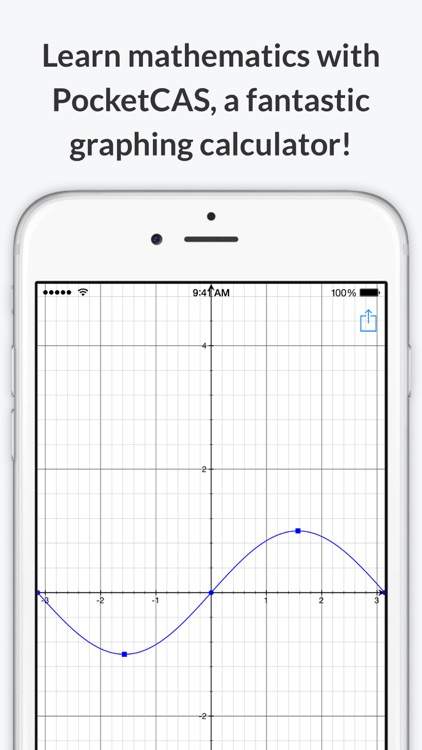 PocketCAS lite for Mathematics