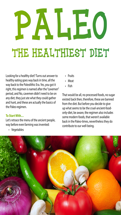 Paleo Health Magazine Screenshot