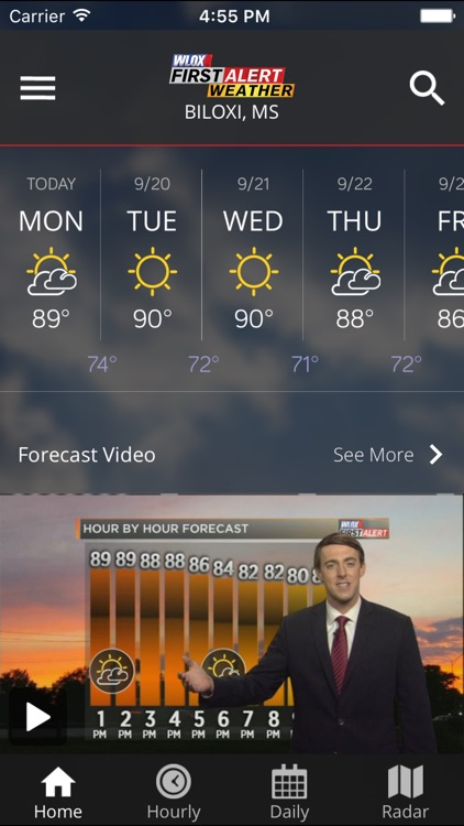 WLOX Weather screenshot-2