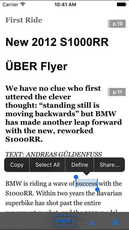 BMW Motorcycle Magazine screenshot-4