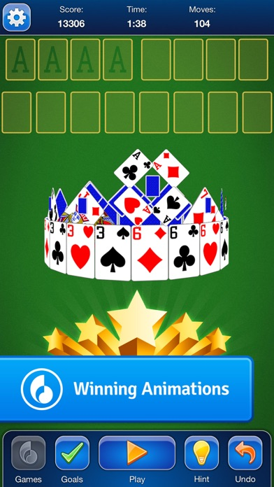 Freecell Solitaire Card Game review screenshots