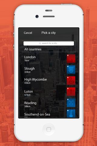 Peterborough App - náhled