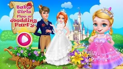 Baby Girls Flower Wedding Party screenshot one