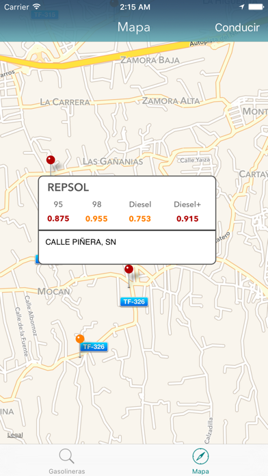 Gasolineras Españolas screenshot three