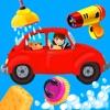 驚くほどの車やトラックの洗浄 -  liteの小さな子供や幼児のためのゲムを掃除面白い車