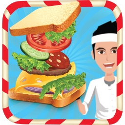 Sandwich Maker - Crazy fast food cooking and kitchen game