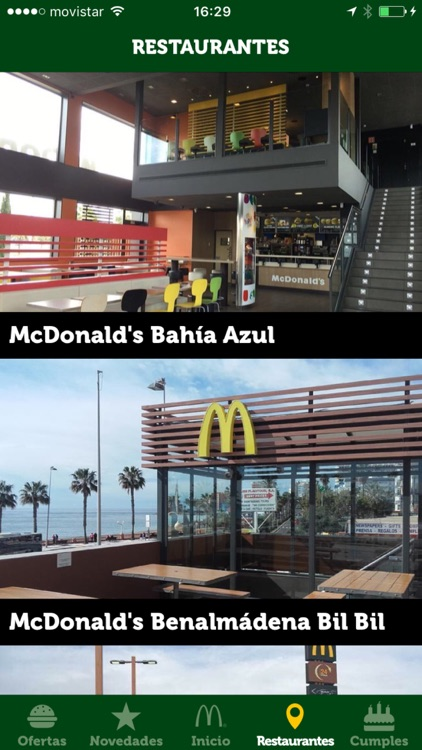 Ofertas McDonald's Málaga screenshot-3