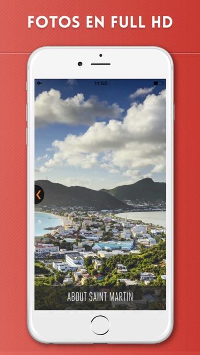 Isla de San Martín Guía de Viaje con Mapa OfflineCaptura de pantalla de2