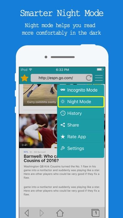 Web Browser Free - Internet Browsing & Safe Search screenshot three